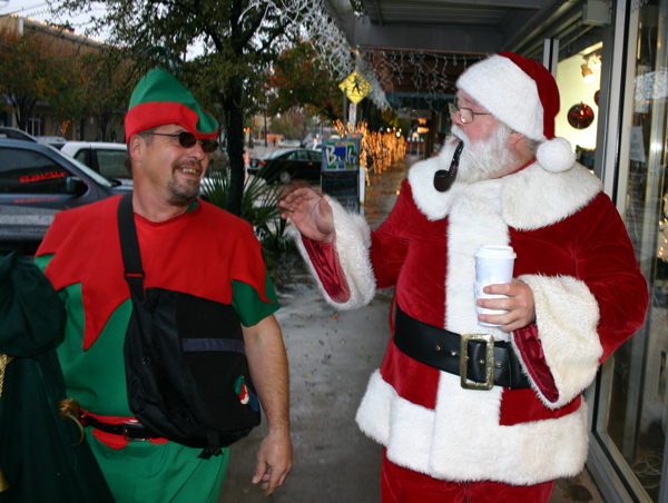 Wednesday Wine Walk and holiday festivities on The Strip tonight