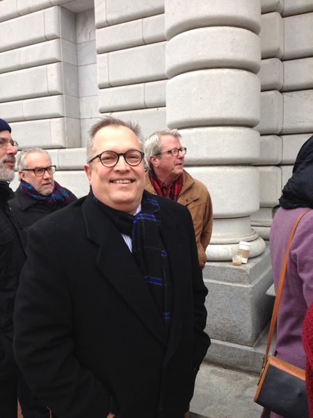 PHOTOS: Lines form to get into 5th Circuit Court of Appeals