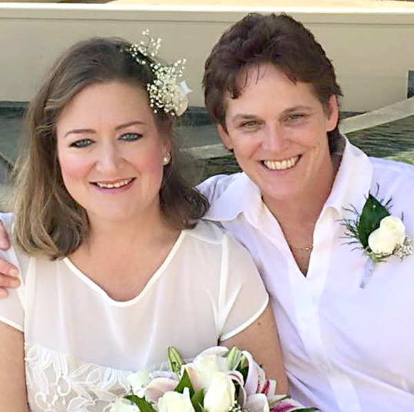 Congrats to Amy and Kelly — and all the other Florida newlyweds