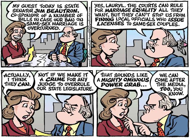 Editorial Cartoon • 01-30-15