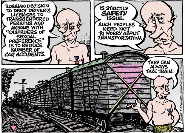 Editorial Cartoon • 01-16-15