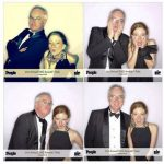 I saw Julianne Moore (gorgeous), most of the 'Modern Family' cast and many others. Then we went to the People photobooth for these shots. Clearly Carol and I were having a ball.