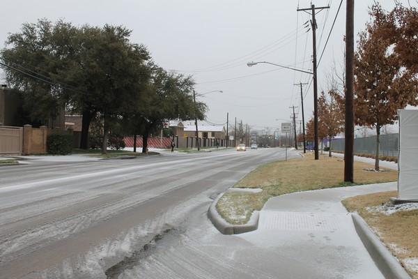 Dallas Voice office closed today due to severe flurries