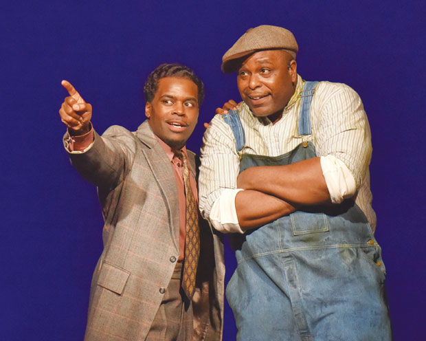 STAGEBRIEFS: 'Sexy Laundry,' 'Stagger Lee'