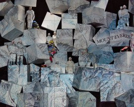 The stunning set of 'Everest' (Photo: Karen Almond/Dallas Opera