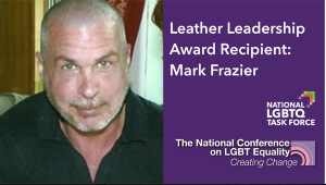 Mark Frazier Creating Change award