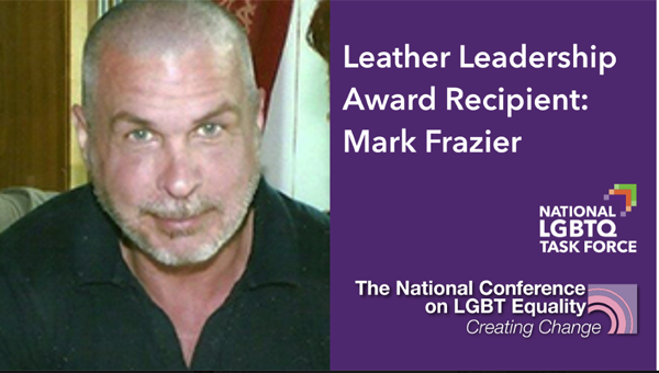 Frazier to receive Leather Leadership Award at Creating Change