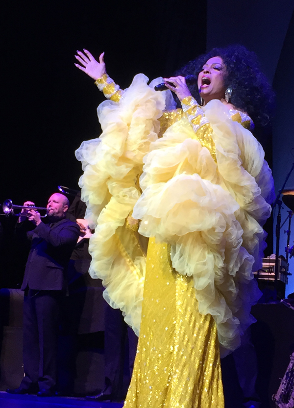 Diana Ross shines at Verizon Theatre