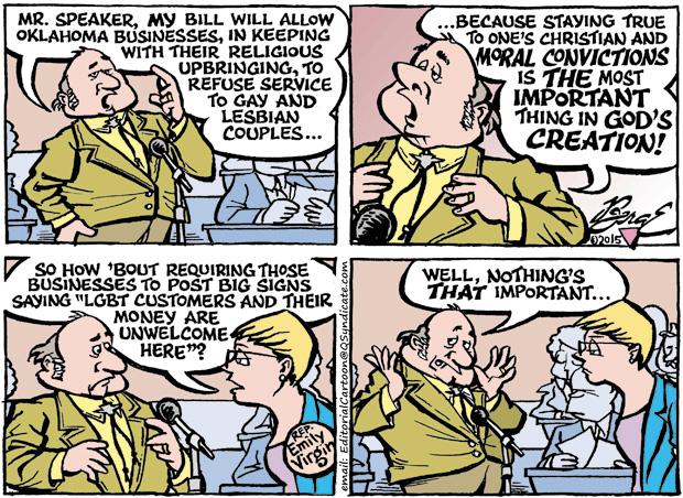 Editorial Cartoon • 03-20-15