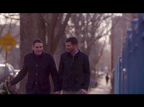 Gay couple in video invites Hillary to their wedding