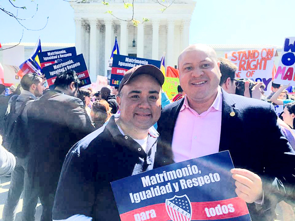 Dallasites in D.C. for marriage equality