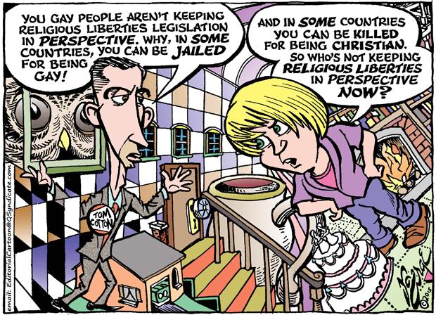 Editorial Cartoon • 04-10-15