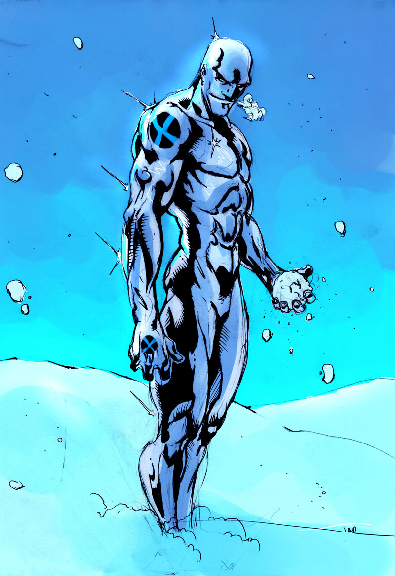 Marvel's Iceman is gay!