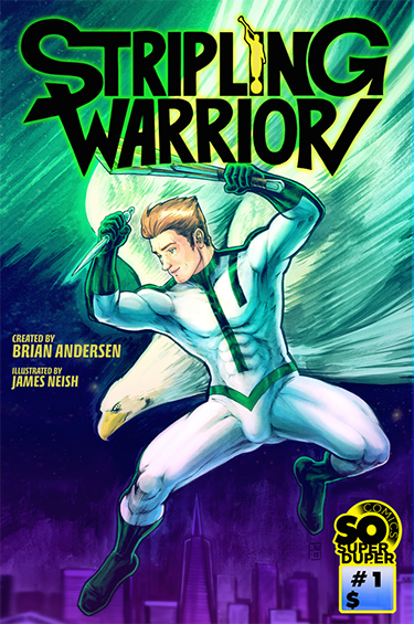 Comic book start-up wants funding for gay Mormon superhero mag