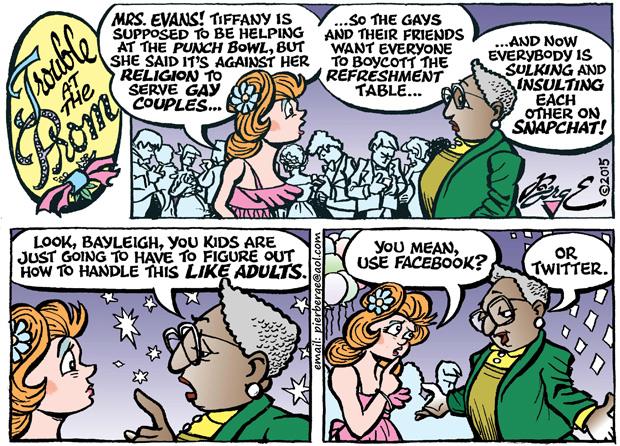 Editorial Cartoon •04-24-15