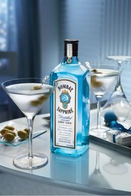 1 Sapphire Ultimate Martini