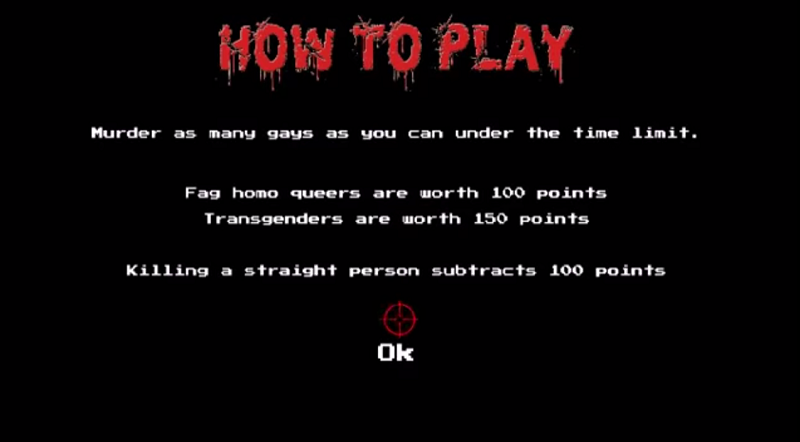 Video game 'Kill the Gays' created by self-proclaimed 'Christians'