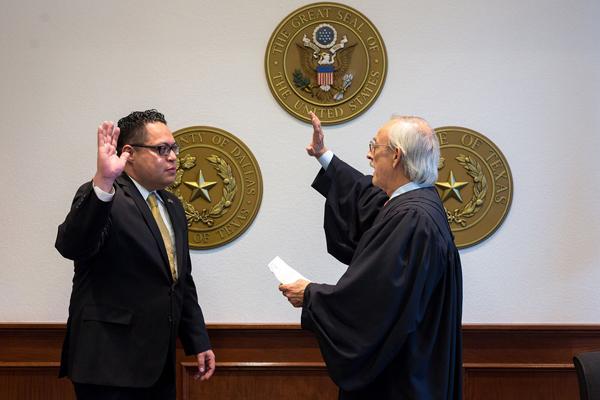 Narvaez sworn in for 6 year term on Dallas County Schools Board