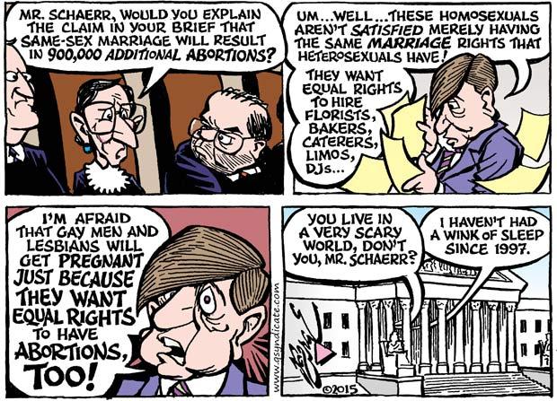 Editorial Cartoon • 05-08-15