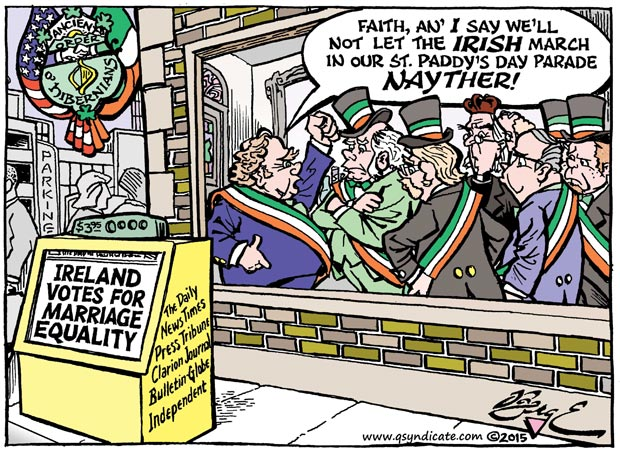 Editorial Cartoon •05-29-15