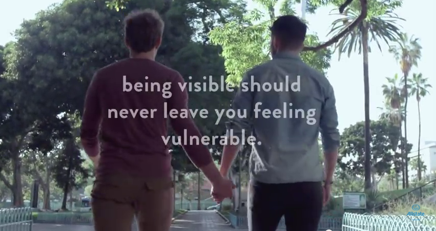 Allstate celebrates Pride by putting everyone in good hands