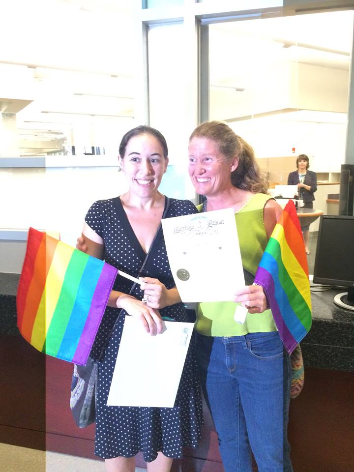 More counties comply and begin issuing marriage licenses