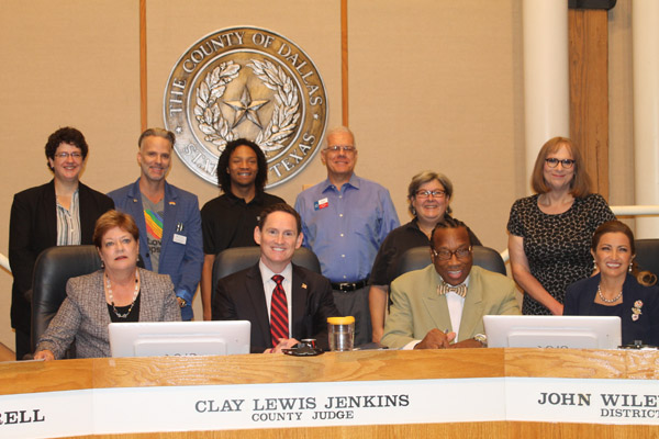 Dallas County Commissioners issue LGBT Pride proclamation