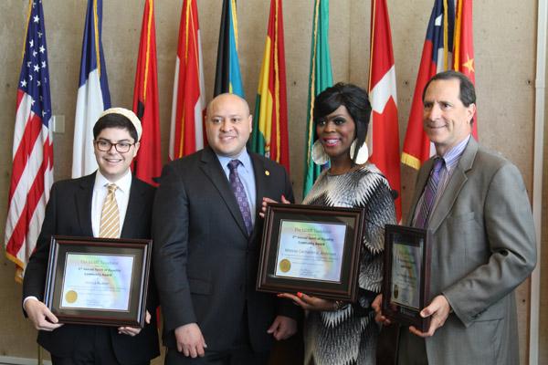 Dallas City Hall celebrates Pride