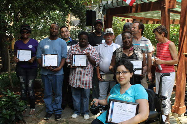 ASD celebrates 28 years of providing housing to people with HIV with awards and a picnic