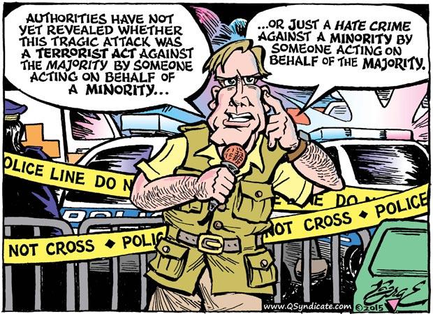 Editorial Cartoon • 06-26-15