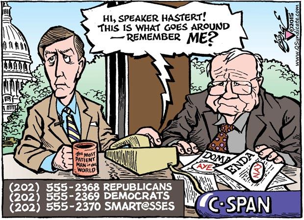 Editorial Cartoon •06-05-15