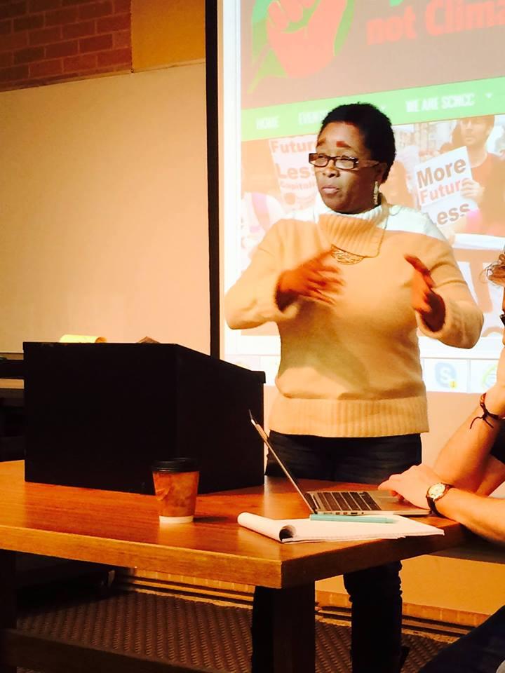 Olinka Green, police brutality survivor, to speak at CoH Thursday
