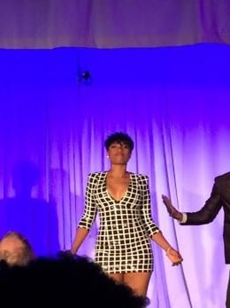 JHud gives surprise private mini-concert at the W's same-sex wedding