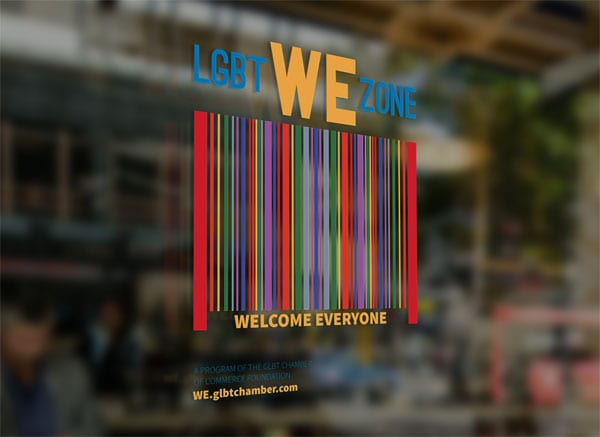 GLBT Chamber begins Welcome Everyone campaign