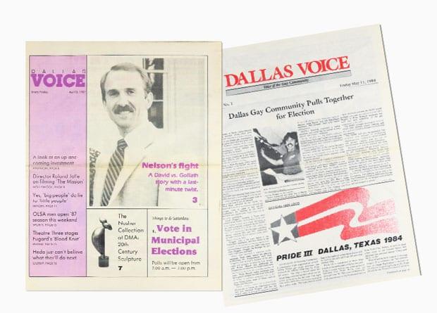 UNT digitizes Dallas Voice
