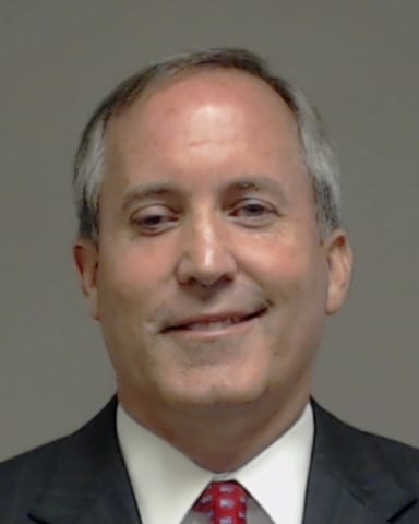 BREAKING: Attorney General Ken Paxton has been booked