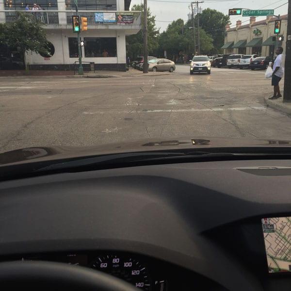 Crossroads needs crosswalks