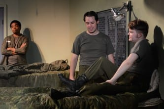 Local troupe opens gay-themed play 'Streamers' tonight
