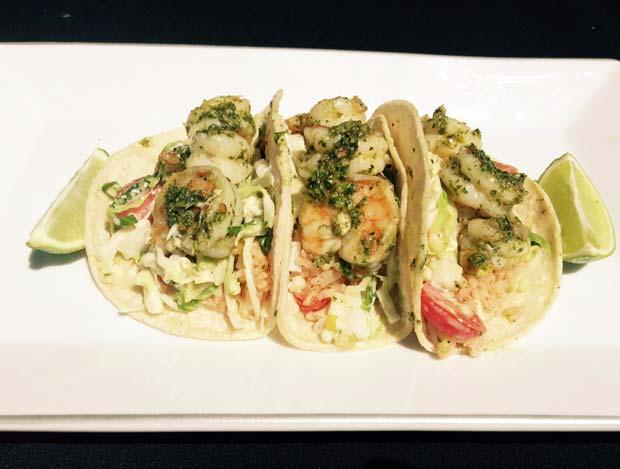 SUMMERRECIPE Grilled shrimp tacos