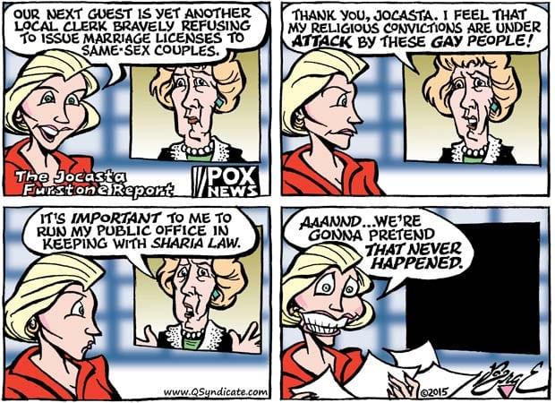 Editorial Cartoon • 08-21-15