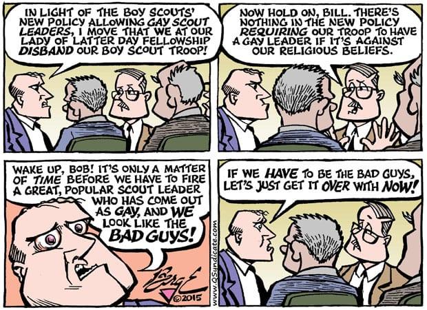 Editorial Cartoon • 08-07-15