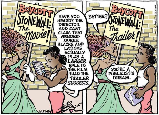 Editorial Cartoon • 08-14-15
