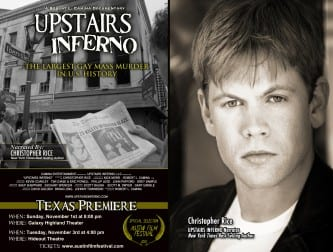 'Upstairs Inferno' schedules first Texas screening at Austin Film Festival