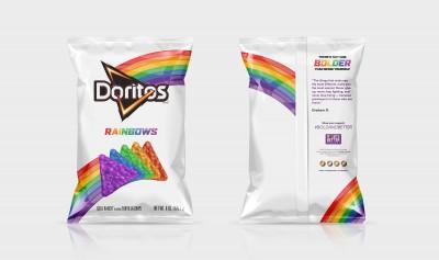 Frito-Lay debuts new Doritos Rainbows chips, exclusively at Dallas Pride