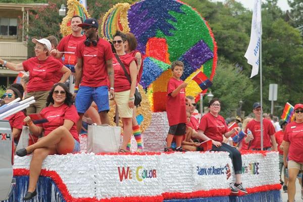 Record crowds attend Dallas Pride