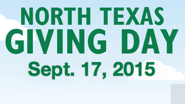 Sept. 17 is North Texas Giving Day