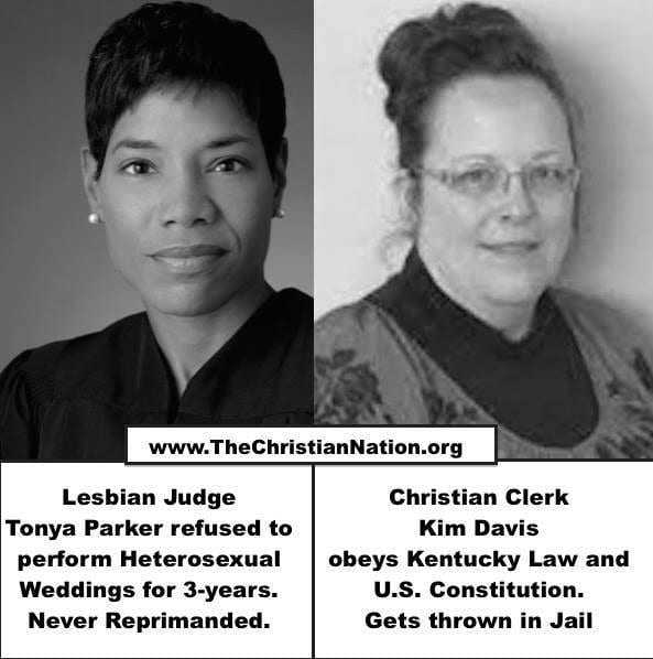 Religious right tries to compare Tonya Parker to Kim Davis