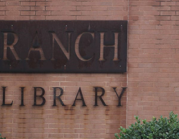 Meeting at library tonight to plan rally