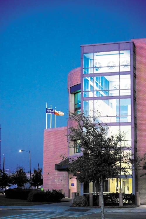 Arlington-Police-station