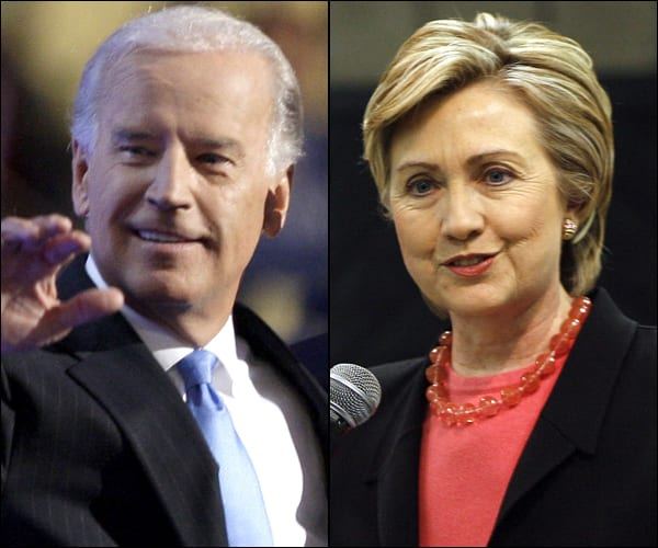 Biden:Clinton flash photo